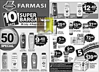 Cosway Farmasi 10 Days Super Bargains 2013