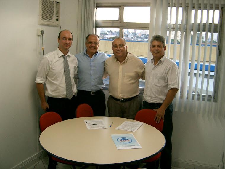 Aporthe e Diretores da CIGS Sistemas de Gestão - S. Paulo