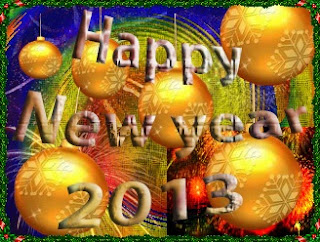 e card happy new year 2013