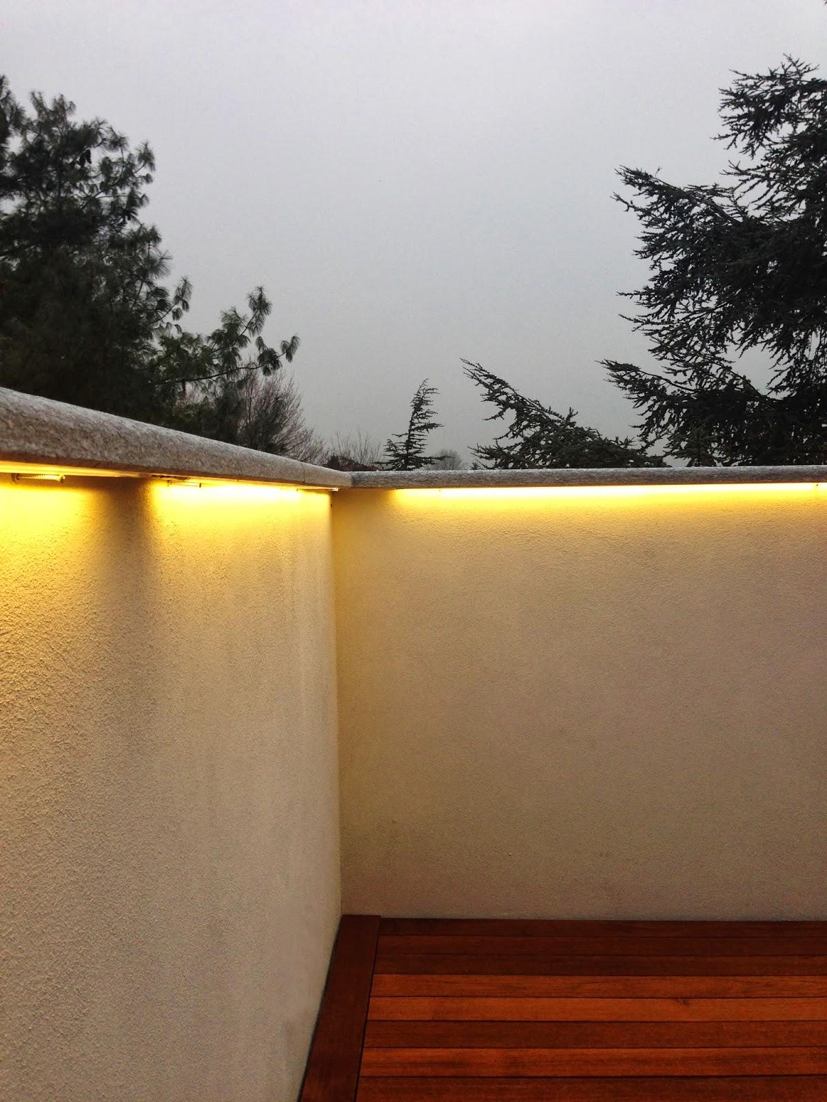 Best Illuminazione Terrazzo Led Contemporary - Design Trends 2017 ...