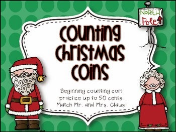 http://www.teacherspayteachers.com/Product/Counting-Christmas-Coins-Freebie-426269