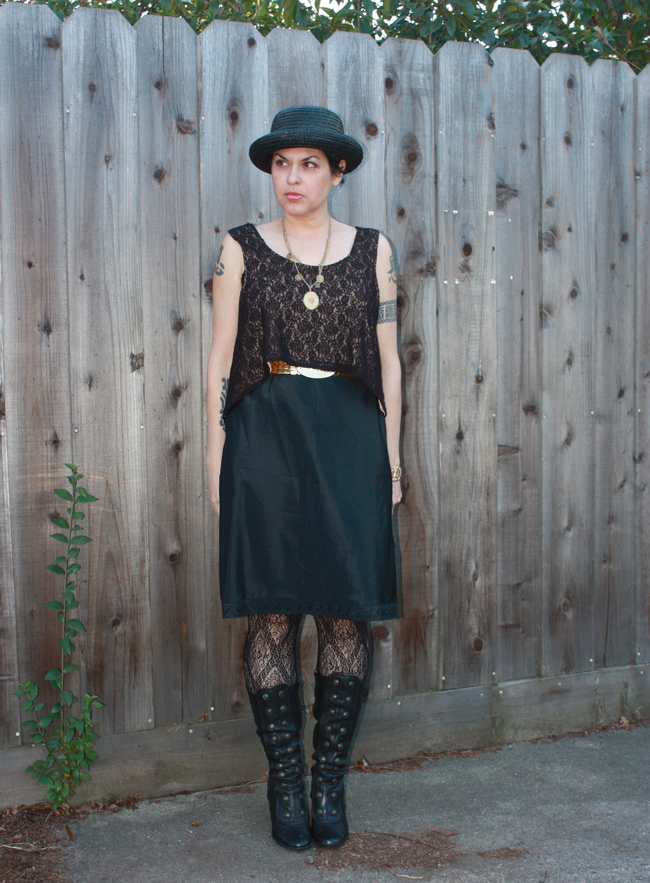 outfit post: Modern Old-Fashioned