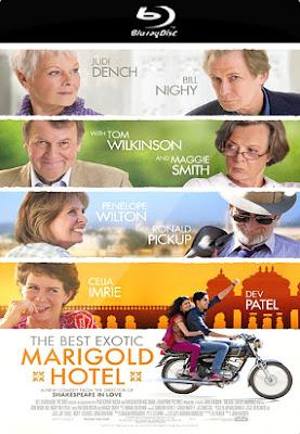 Filme Poster O Exótico Hotel Marigold BRRip XviD & RMVB Legendado