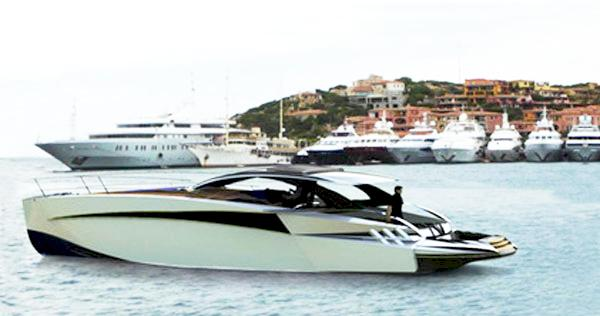 Luxury yacht superyacht diamond 44 a designer mauro for Yacht design milano