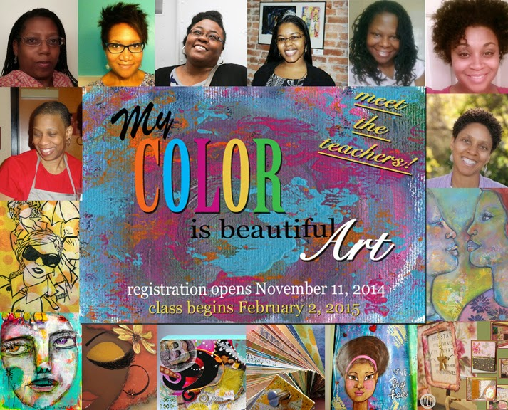 Instructor line-up, 'My Color is Beautiful Art' 2015 workshop