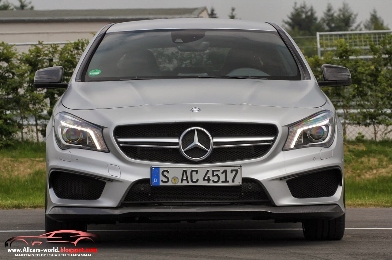automotive news 2014 mercedes benz cla45 amg. Black Bedroom Furniture Sets. Home Design Ideas
