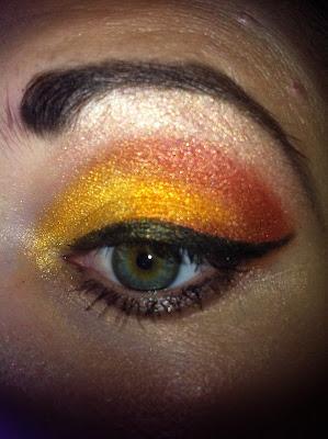 Make up- wspomnienie lata ;)