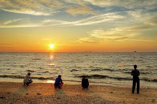 Sunset In Malaysia