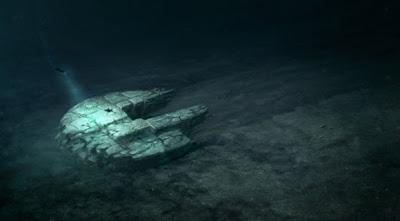 Ovni sumergido en el mar Báltico