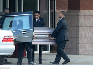 Bobbi Kristina is laid to rest, fight occur during the funeral