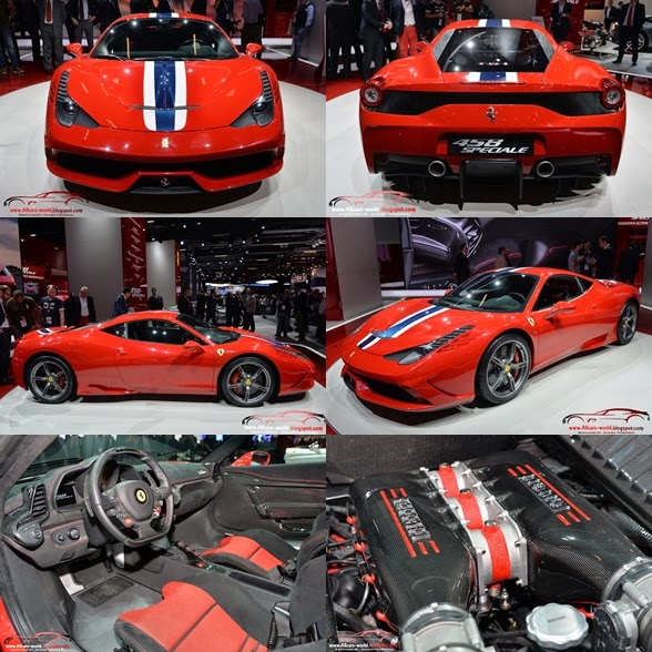 Automotive News: 2014 Ferrari 458 Speciale