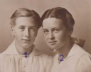 Herzogin Ingeborg Alix und Herzogin Altburg von Oldenburg