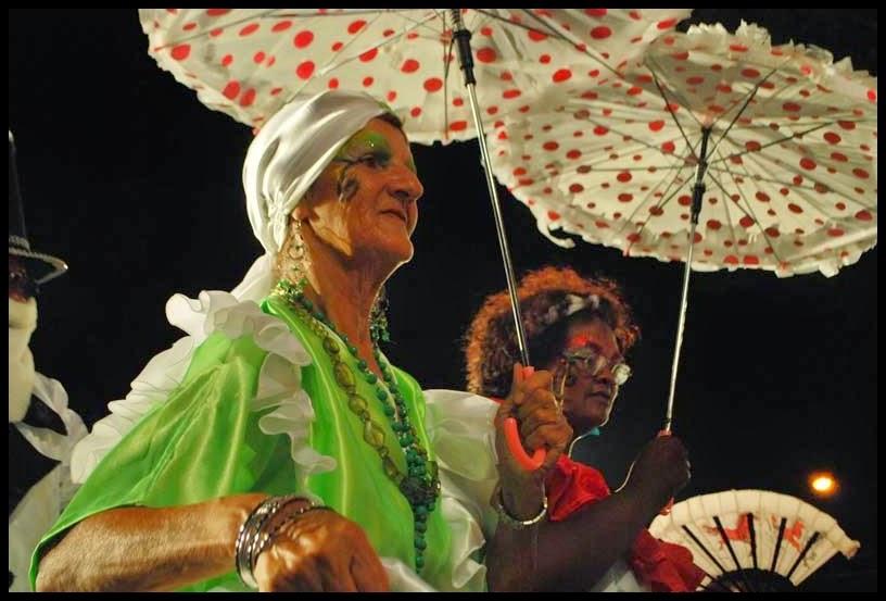 Desfile de Llamadas. Lulonga.. Montevideo. 2011.