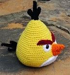 Amigurumi Angry Birds Space : 2000 Free Amigurumi Patterns: Chuck the Angry Bird