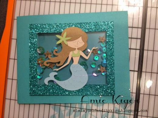 Mimi Myself And I A Little Mermaid Birthday Card