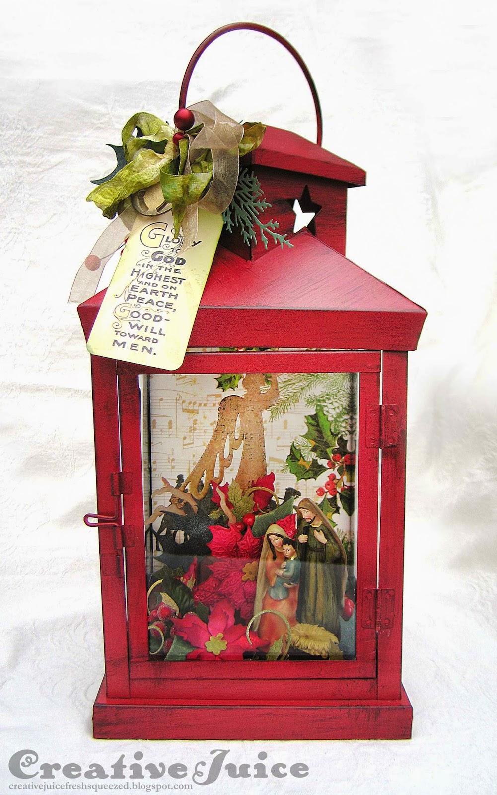 Creative Juice: Christmas Nativity Lantern