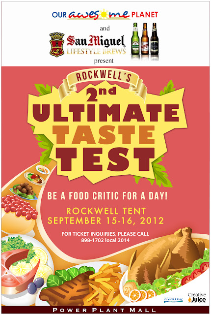 Rockwell's Ultimate Taste Test: Be a Food Critic for a Day!