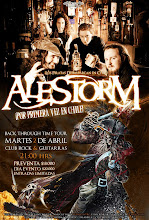 Recitales en Chile : Abril                                                                 Alestorm