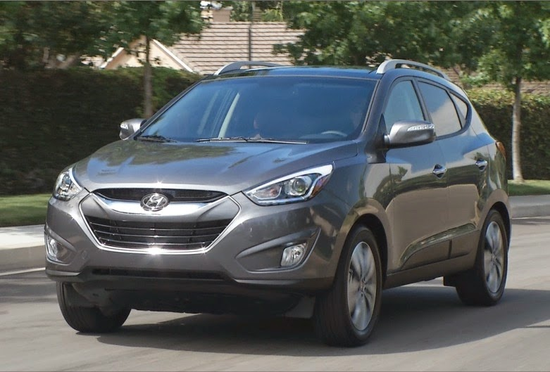 Hyundai's Tucson is particularly nice for the price