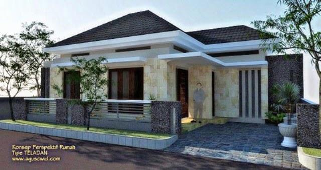 rumah minimalis 1 lantai type 150 desain rumah minimalis