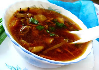 hot and sour soup is indo chinese recipe the soup recipe i am sharing ...
