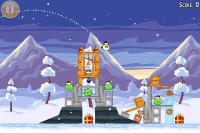 tampilan game Angry Birds Seasons 2.1.0 terbaru