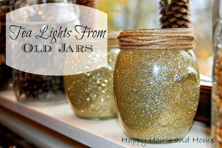 glitter, tea lights, glitter tea lights, diy candles, home decor