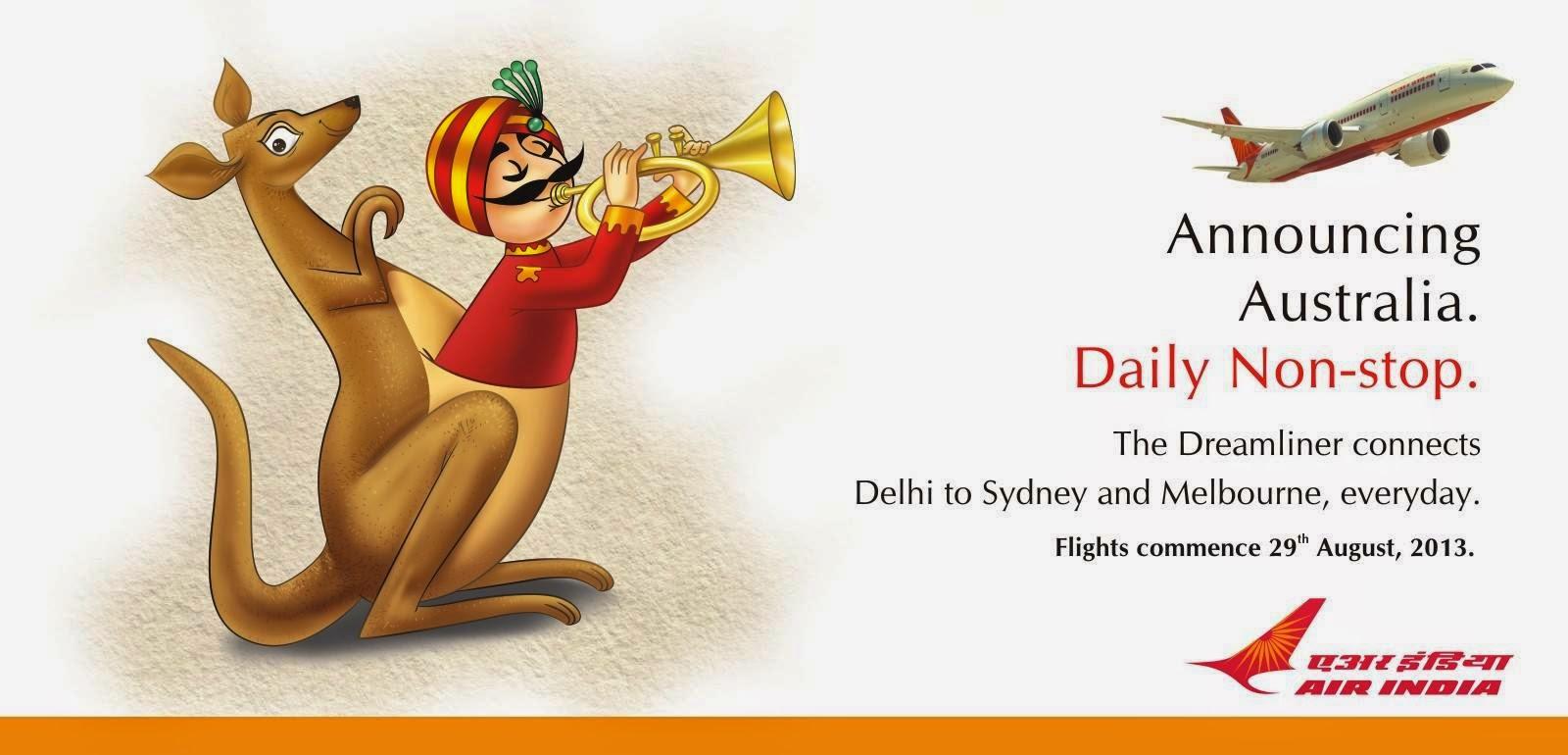 air india to start delhi sydney delhi melbourne. Black Bedroom Furniture Sets. Home Design Ideas