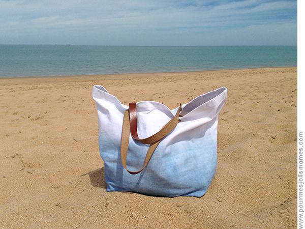 mon sac de plage en d grad pour mes jolis m mes mais pas que. Black Bedroom Furniture Sets. Home Design Ideas