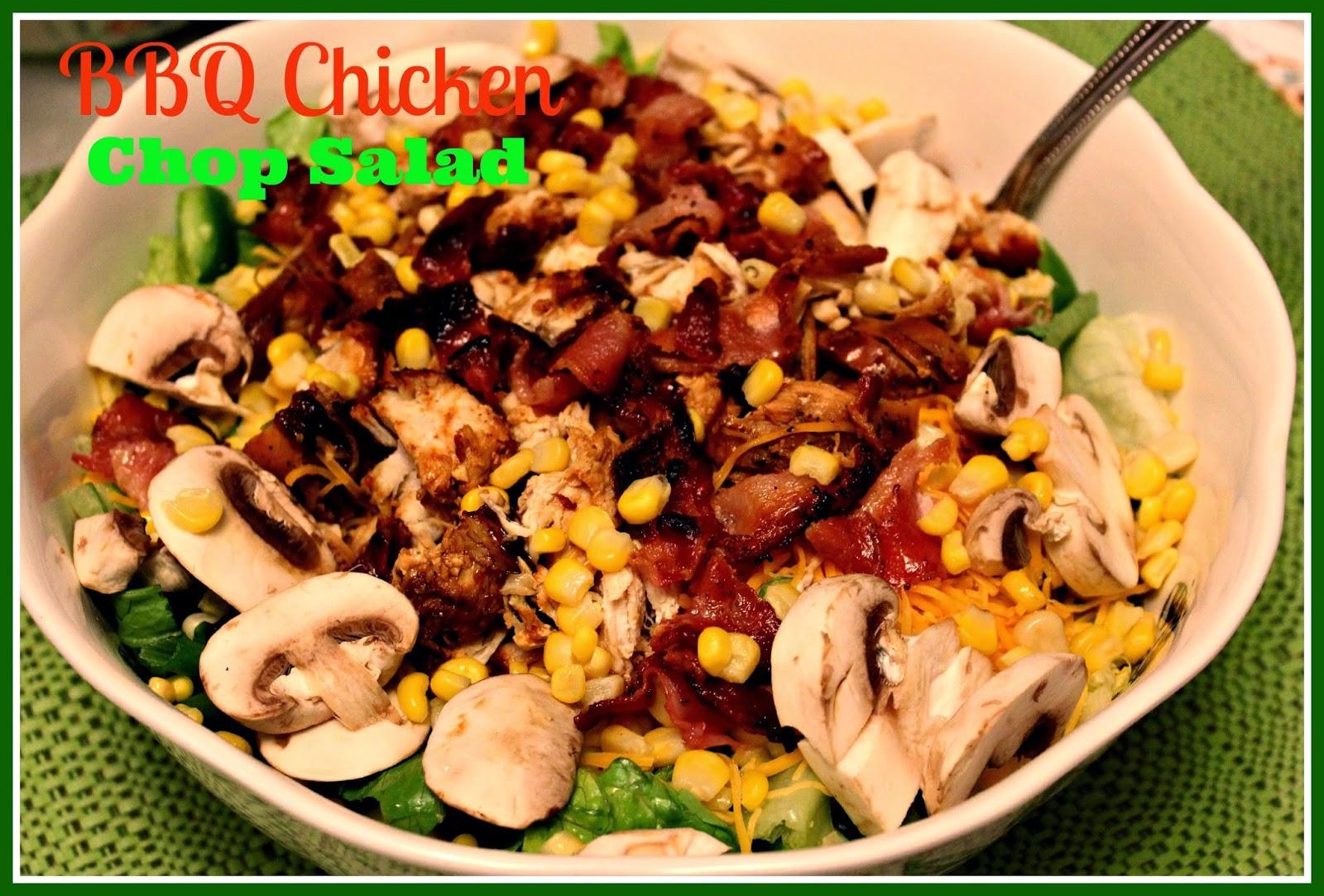 Sweet Tea and Cornbread: BBQ Chicken Chop Salad!