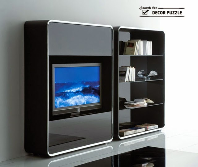 Modern TV Units For Small Living Room Designs