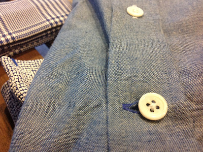 Signature button hole from Crawford and Sons