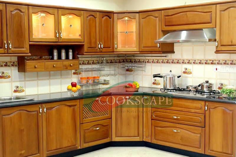 Cookscape modular kitchen for Steel modular kitchen designs