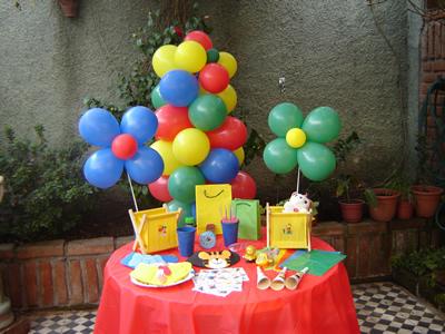 decoracion cumpleanos infantiles 7 anos