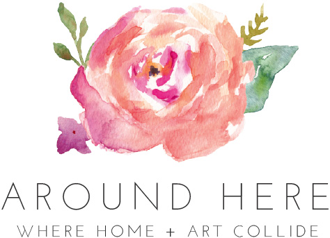 where home + art collide