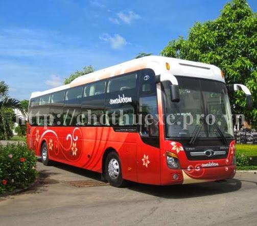 Cho thuê xe 45 chỗ Hyundai Univer tại Hà Nội