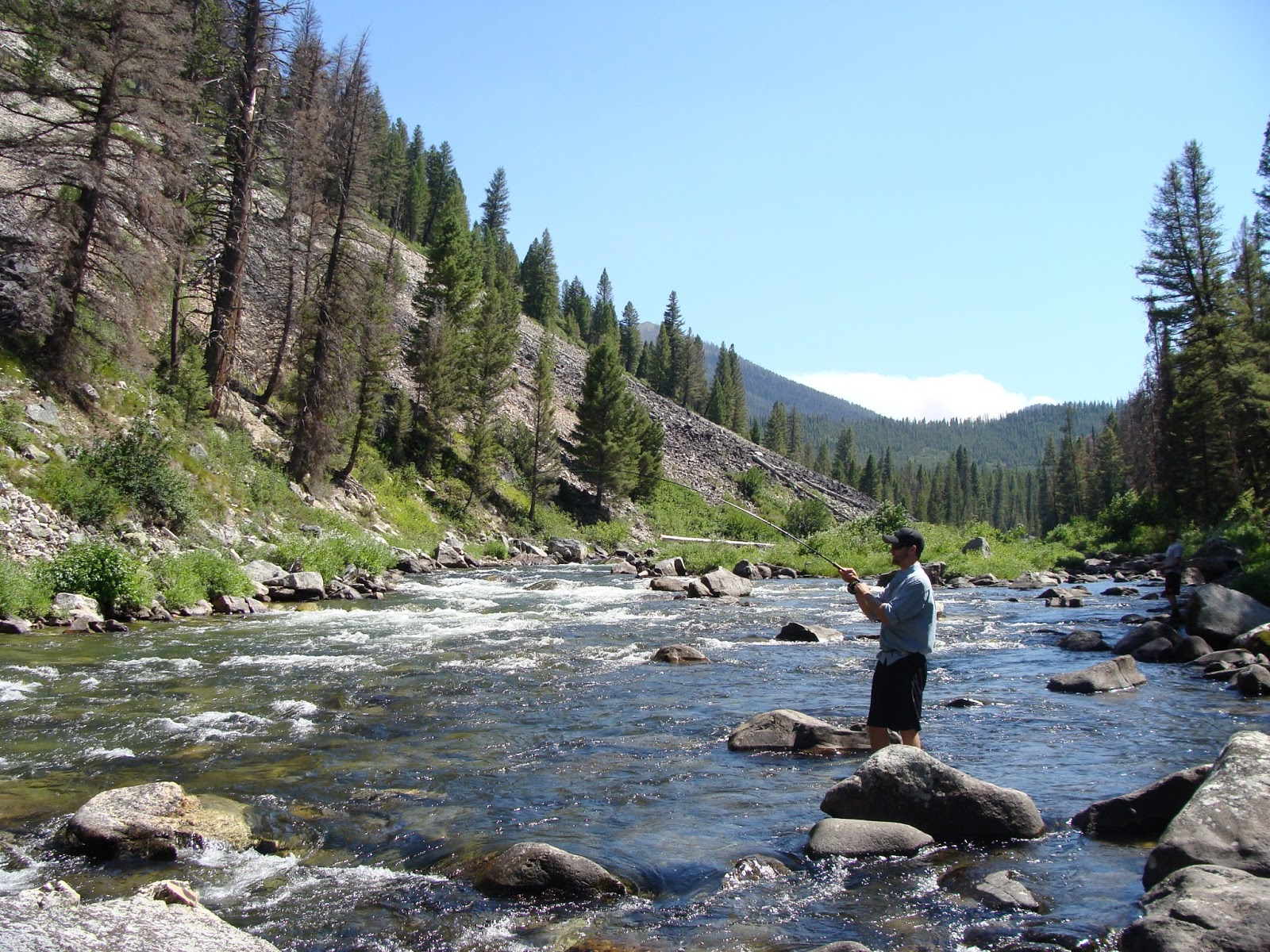 Outdoor doer fly fishing middle fork of the salmon river for Fly fishing boise idaho