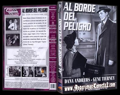 Al Borde del Peligro [1950] Carátula