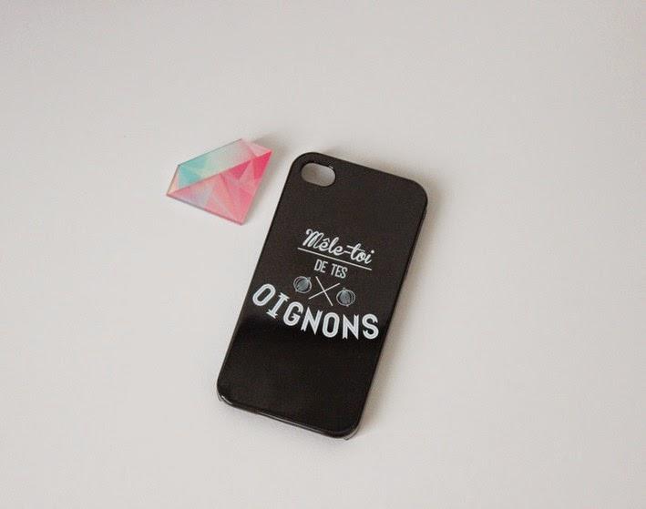 diamant, coque iphone rigolote