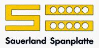 Sauerland Spanplatte