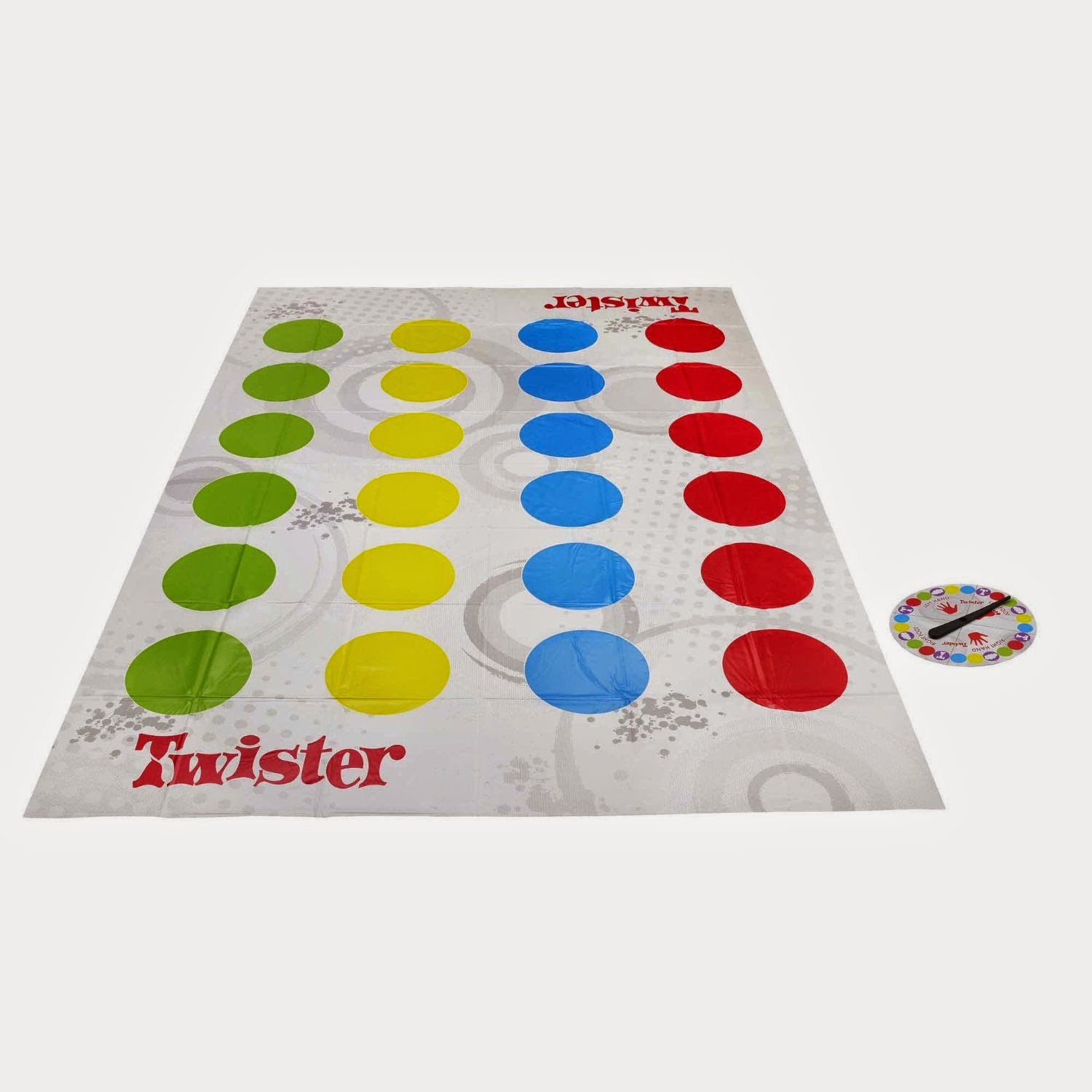 Play Twister for Step 3 of the Brownie Making Games Badge