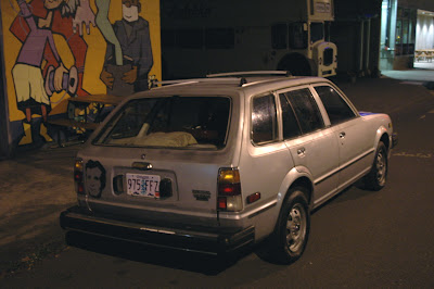 1981 Honda Civic Wagon.