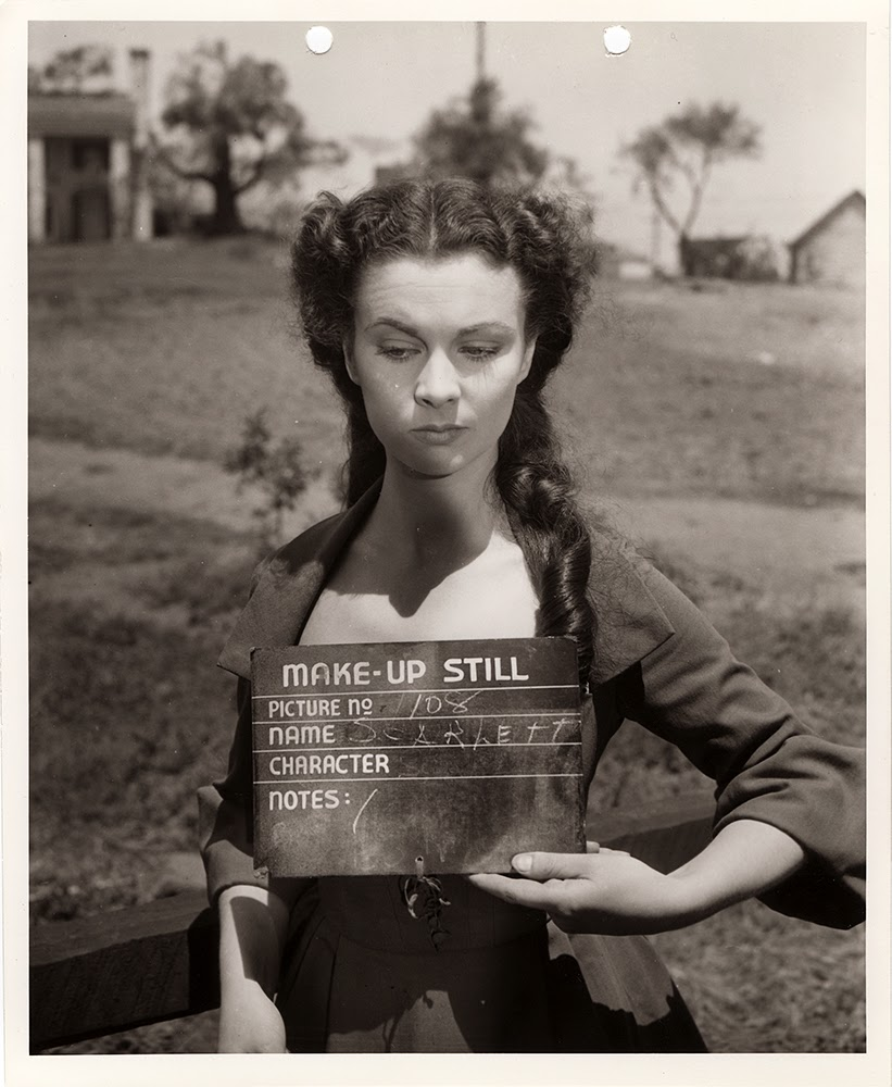37 rarely seen behind the scenes photos from the making of for Who played scarlett o hara in gone with the wind