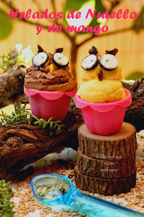 Recetas con decoraciones divertidas y originales parte ii - Decoracion de helados ...