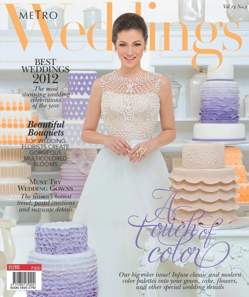 The Veluz Bride: Metro Weddings Magazine