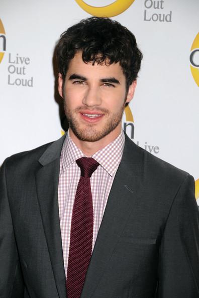 Darren Criss es Blaine Anderson en Glee