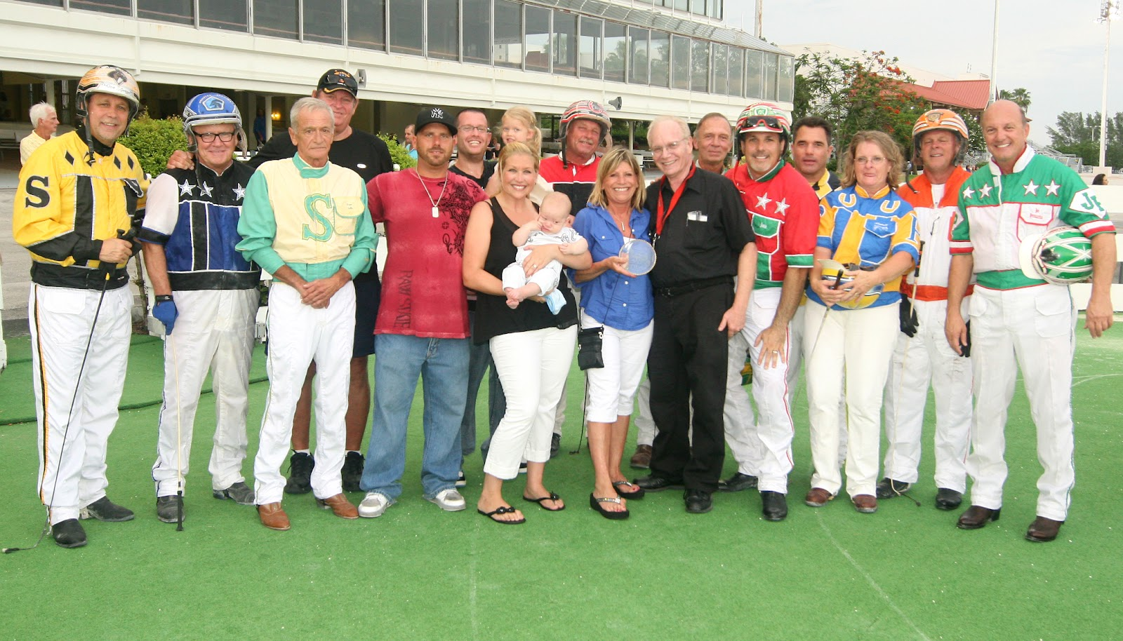 The Florida Amateur Driving Club presentation to the family of the Robert  (Bob) Arnold on Saturday evening, June 9 at The Isle Casino Racing Pompano  Park.