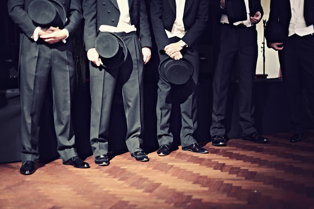 thornbury theatre wedding groomsmen tophats