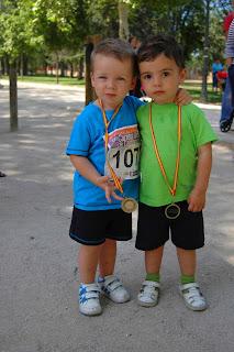 Gorka y Pablo Oier, dos jóvenes promesas.