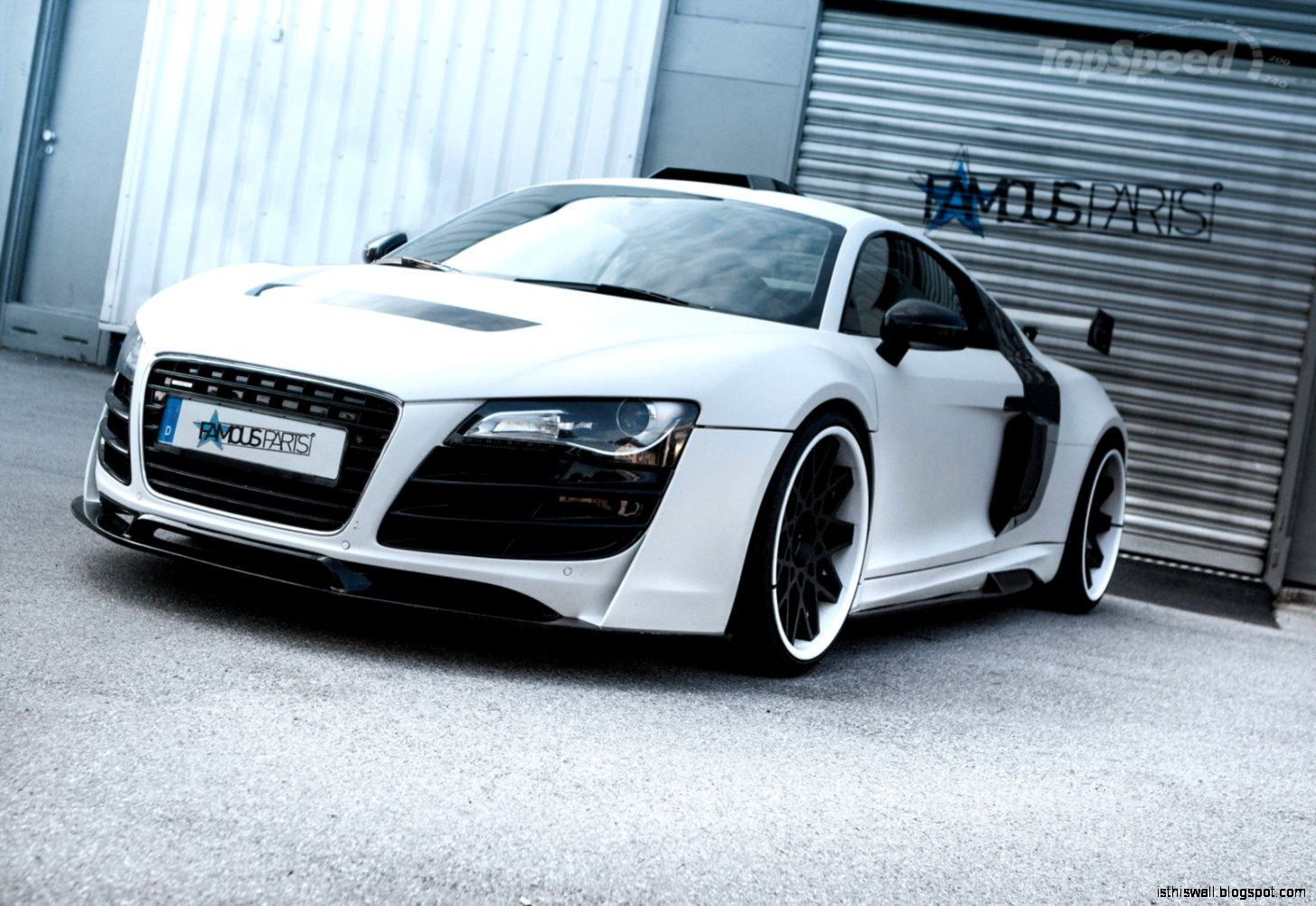 2014 Audi R8 PD GT850 White Phoenix By Prior Design  car review